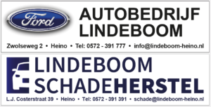 Autobedrijf en schadeherstel Lindeboom Heino, hoofdsponsor BC Hoogerheyne