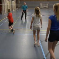 Badminton voor kinderen