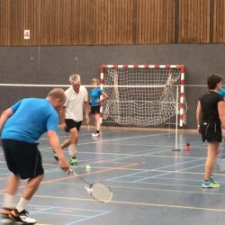 Zomer badminton bij BC Hoogerheyne